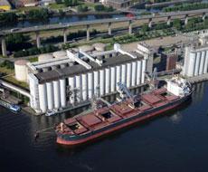 Николаевский морской порт перевалил почти 6 млн т зерна