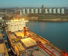 У 2015 році морпорти України збільшили обсяг перевалки зернових вантажів на 10%
