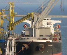 Зерно зайняло друге місце у вантажообігу українських портів