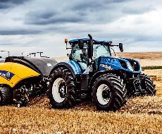 Новый трактор New Holland T7 представят в Украине