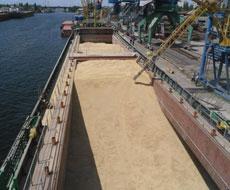 Одесский зерновой терминал ГПЗКУ нарастил отгрузки зерна до 1 млн. тонн