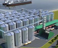 Одесский зерновой терминал отгрузил миллионную тонну зерна