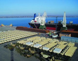 Морський порт «Ольвія» перевалив на 13,5% більше  зернових вантажів