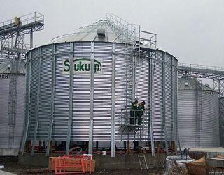 Агрофірма «Світанок» збільшує потужності зернозберігального комплексу