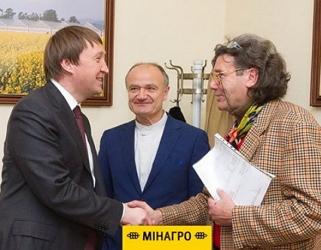 Тарас Кутовий зустрівся із французьким виноробом Крістофом Лакареном