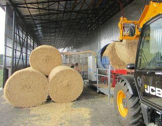 Фермерське господарство на Вінничині вироблятиме паливні брикети з соломи