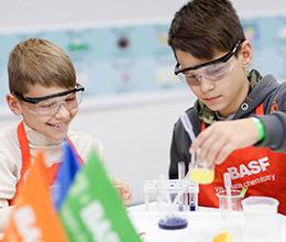 BASF запускає дитячу хімічну лабораторію BASF Kids' Lab в Україні