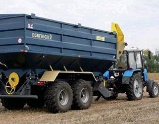 Egritech планує щорічно виробляти 600 бункерів і автопоїздів для перевезення зерна