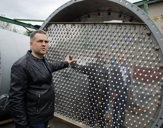 На Хоростківському спиртзаводі встановлюють нове обладнання