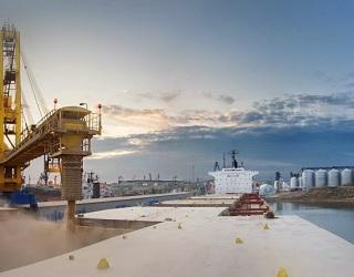 У порту «Ольвія» відкрили новий зерновий термінал