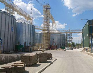 «НІБУЛОН» змонтував металоконструкції додаткових ємностей на філії «Кременчуцька»