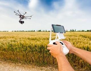 В Україні для моніторингу полів почали використовувати дрони на сонячній енергії