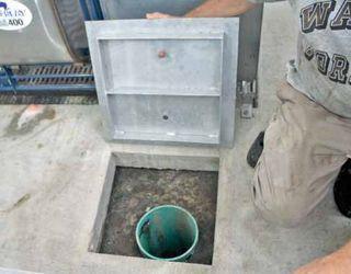 Контроль роботи системи гноєвидалення на свинофермі