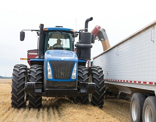 Зібрано понад 43 млн тонн зерна
