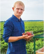 Полуниці для Білорусі