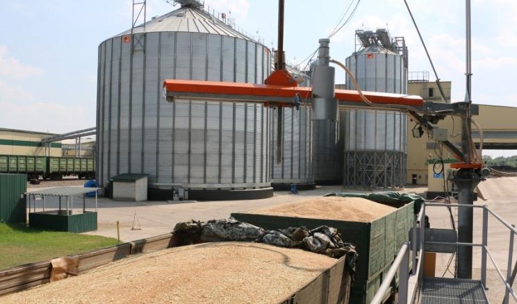 «Агросвіт» Баришівської зернової компанії запустив новий пункт навантаження зерна