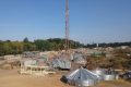 «НІБУЛОН» розпочав монтаж силосів на зерновому комплексі в Хмільнику