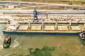 Зерновий термінал Neptune завантажив на своє перше судно 56 тис. тонн пшениці
