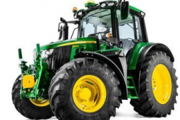 John Deere оновив серію тракторів 6M