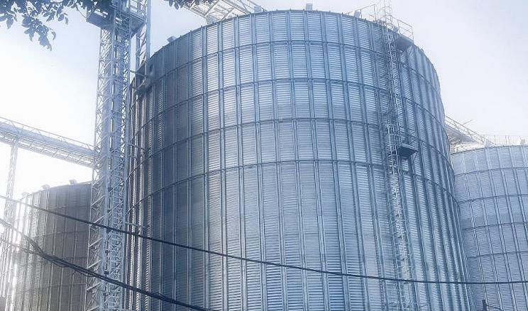 На елеваторі «Інтерзерноторг» завершили будівництво другої черги