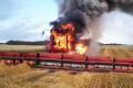 Причиною 75% пожеж комбайнів є займання в моторному відсіку