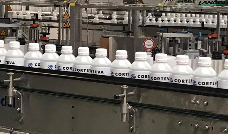 Corteva Agriscience відкрила у Франції новий завод з пакування засобів захисту рослин