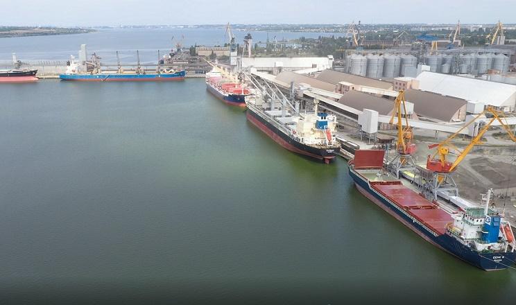 Порт «Ніка-Тера» розпочав приймати соняшниковий шрот нового врожаю