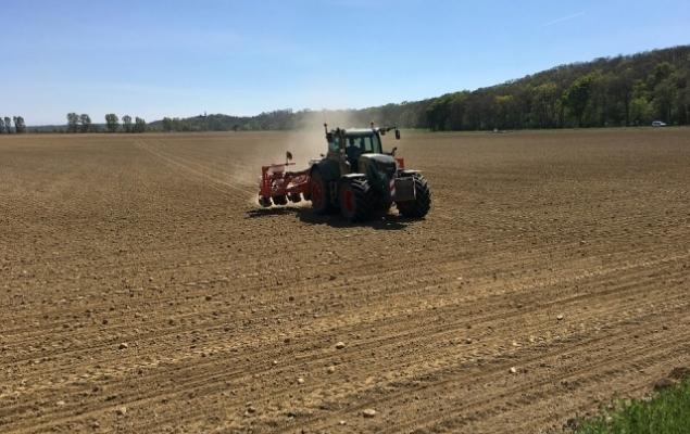 Попри несприятливі погодні умови «Укрлендфармінг» сівбу озимої пшениці майже за планом