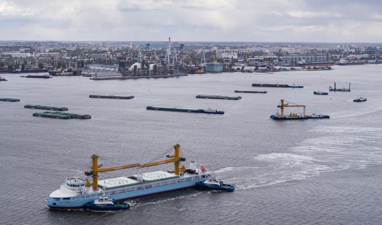 З початку сезону флот «НІБУЛОНу» перевіз рекордний обсяг вантажів