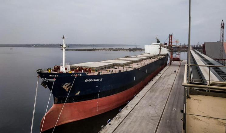 Термінал EVT прийняв перші судна класу Panamax