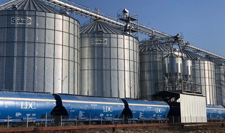 Елеватори «Волинь-зерно-продукту» прийняли на зберігання 450 тис. тонн зерна