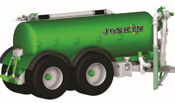 JOSKIN випустив нову модель цистерни для рідкої органіки