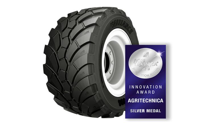 Аграрна шина Alliance 398 MPT для вантажівок отримала нагороду