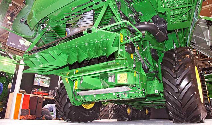 Подрібнювач насіння бур'янів для комбайнів John Deere