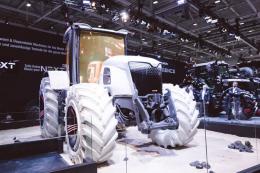 Massey Ferguson представив концептуальний трактор MF Next