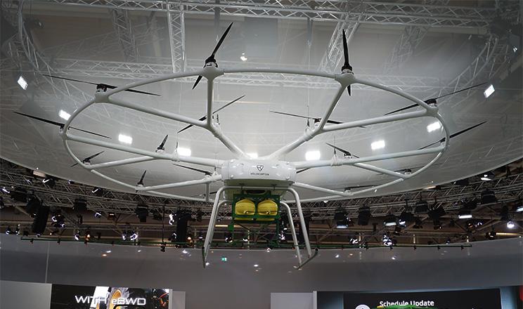 John Deere та Volocopter представили важкого безпілотника для сільського господарства