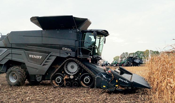 Ідеальна продуктивність збирання кукурудзи