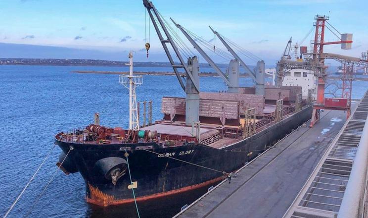 Зерновий термінал EVT перевалив 1 млн тонн зерна