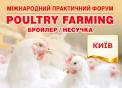 Міжнародний практичний форум «POULTRY FARMING. Бройлер/Несучка»