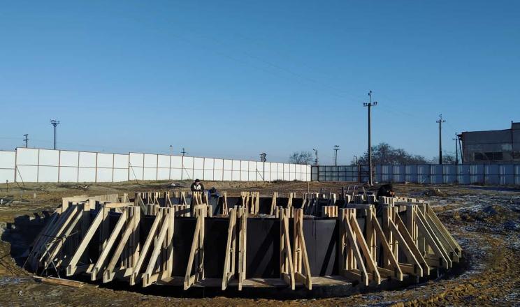 Миколаївське господарство «Давос» будує новий елеватор