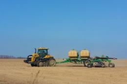 Українські сільгоспвиробники засіяли вже 853,2 тис. га ярих зернових