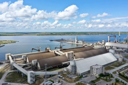 Порт «Ніка-Тера» ввів у експлуатацію новий причально-ваговий комплекс для сільгоспвантажів