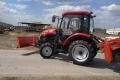 Villa Milk придбала новий трактор для заготівлі кормів