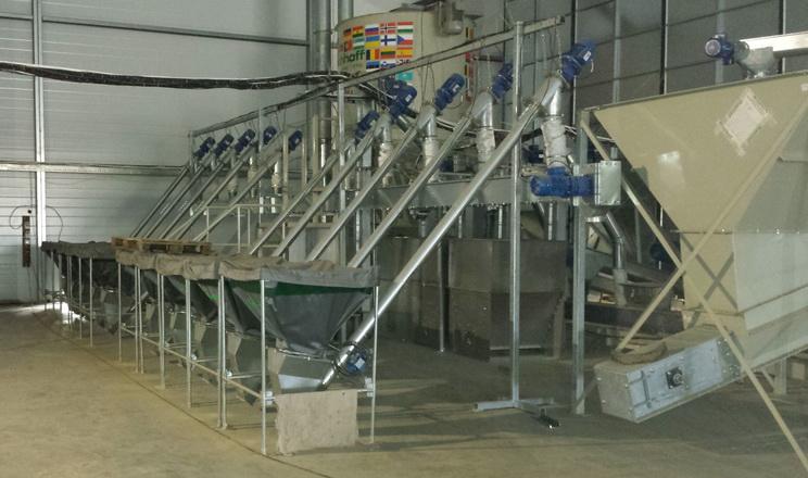 Премікси, які додаватимуть у комбікорм, визначають набір обладнання у комплектації комбікормового заводу
