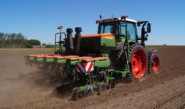 Amazone та Schmotzer випробовують нову систему рільництва