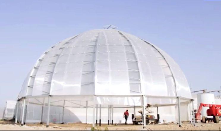 У містах пропонують будувати напівсферичні теплиці