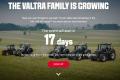 Valtra представить нові трактори потужністю від 100 до 140 к.с.