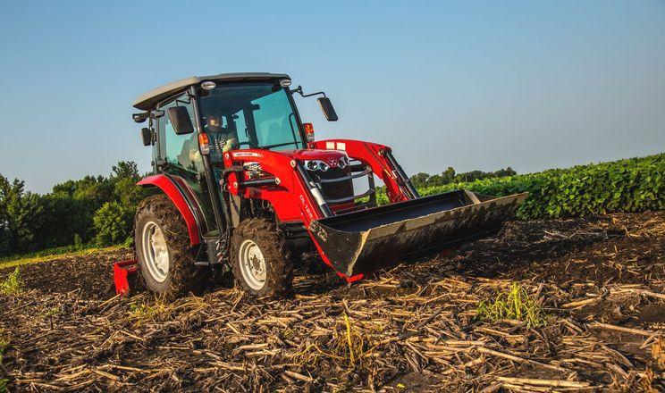 Massey Ferguson розширив серію компактних тракторів