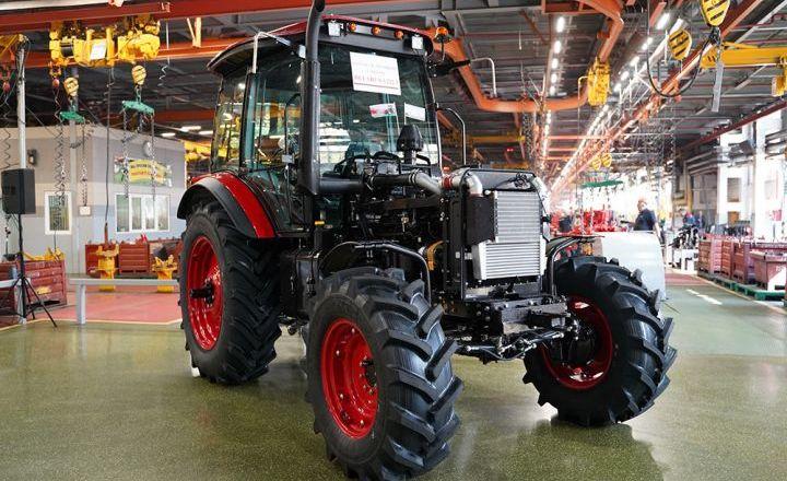 МТЗ розпочав серійне виробництво нового 130-сильного трактора Belarus