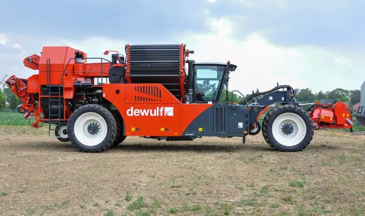 Dewulf оновив самохідні картопляні комбайни R3060